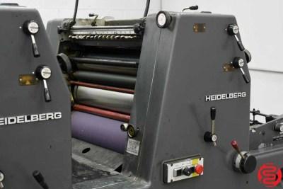 Heidelberg GTOVP 52 Four Color Offset Press - 010720094735