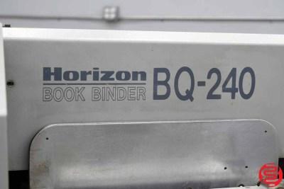 Horizon BQ-240 Perfect Binder - 011320090630