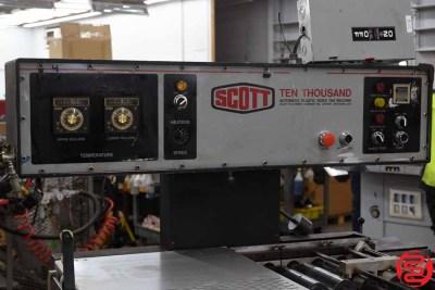 Scott Ten Thousand Automatic Plastic Index Tab Machine - 012220014750