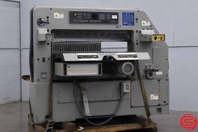 1981 Schneider Senator 115 MC 45 Programmable Paper Cutter - 021920105735