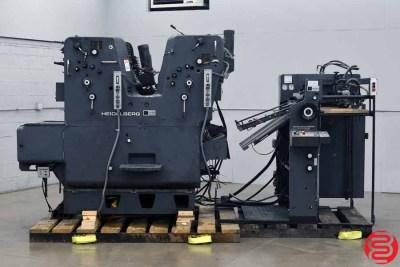 1983 Heidelberg SORKZ 19 x 25.5 Two Color Offset Printing Press - 021820020520