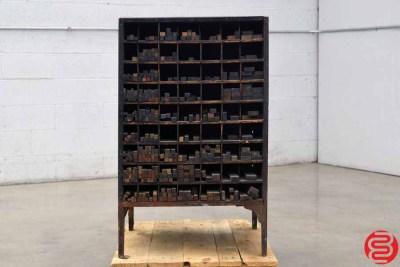 Thompson Letterpress Wood Furniture Cabinet - 022020023020