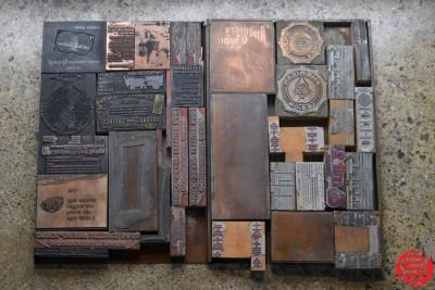 Assorted Letterpress Cuts - 022420084445