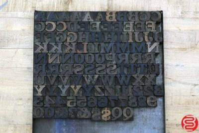 Assorted Letterpress Wood Type - 022120010005