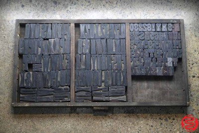 Assorted Letterpress Wood Type - 022120010050