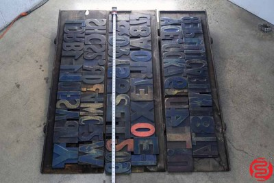 Assorted Letterpress Wood Type - 022220112140