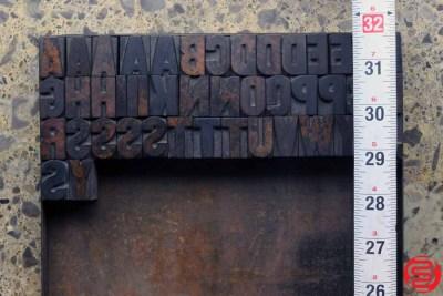 Assorted Letterpress Wood Type - 1 - 032520102610