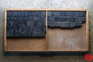 Assorted Letterpress Wood Type - 2 - 032520014610