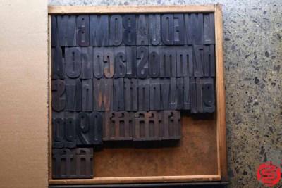 Assorted Letterpress Wood Type - 3 - 032520085310