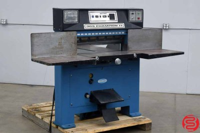 Challenge 305 CDC Hydraulic Programmable Paper Cutter - 050620020020