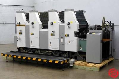 Hamada B452A Four Color Offset Printing Press - 042720020420