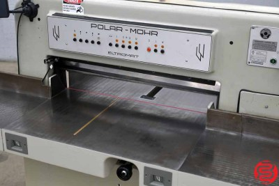 Polar 90 CE Programmable Paper Cutter w MicroCut - 051820034850