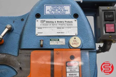 "Interlake S3A 1 1/8"" Flat Book / Saddle Stitcher - 061320070550"