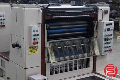 Shinohara 66 IIP Two Color Offset Press - 051920095530