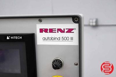 1999 Renz AutoBind 500III Wire Binding Machine - 052020082550