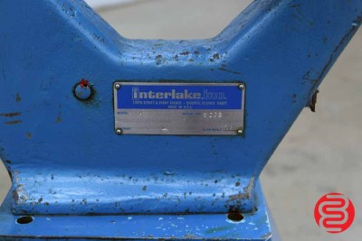 Acme Interlake Model A Flat Book / Saddle Stitcher - 062320081750