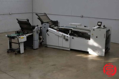 Heidelberg Stahlfolder Ti 55 Continuous Feed Paper Folder - 070220081520