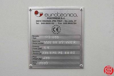 2007 Eurotecnica HE 500 Hot-Melt Perfect Binder - 082020122330