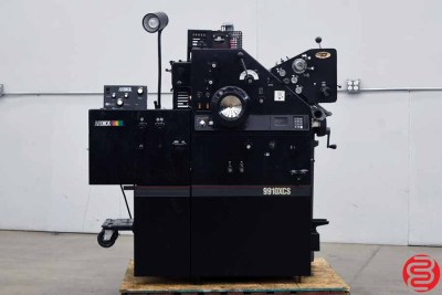 AB Dick 9910XCS Two Color Offset Printing Press - 080820091800