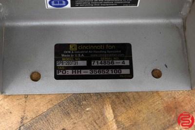 Cincinnati Fan SPB1203T31 Pump
