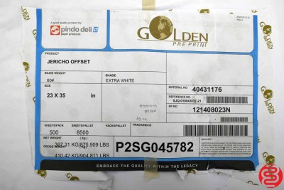 Golden PrePrint Jericho Offset Assorted Paper - 081820080430