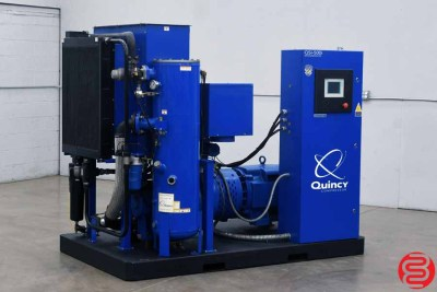 Quincy QSI-500i 100HP Water-Cooled Oil-Free Rotary Screw Air Compressor - 080720025240