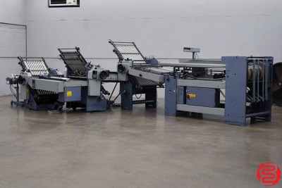 Stahl TF 66 Continuous Feed Paper Folder, 16 Fold