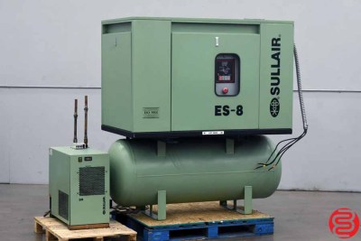 Sullair Sr-100 Air Compressor - 082420091540
