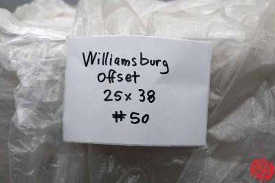 Williamsburg Offset Assorted Paper - 081820080510