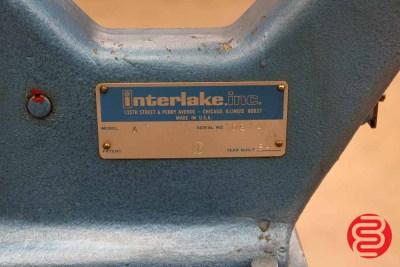 Acme Interlake Model A Flat Book / Saddle Stitcher - 090320114910