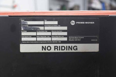 BT Prime-Mover PMX Electric Pallet Jack - 090820084730
