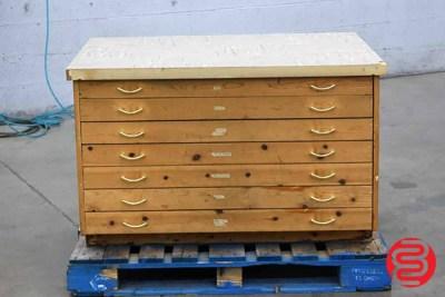 Flat Filing Cabinet - 092420111350