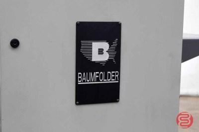 Baum 2015 Pile Feed Paper Folder w/ 8 Page Unit - 102720035410