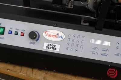 Ameritek T2000 Tabletop Tabber / Labeler / Stamp Affixer - 111720100220