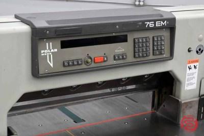 Polar 76 EM Programmable Paper Cutter - 110420011310