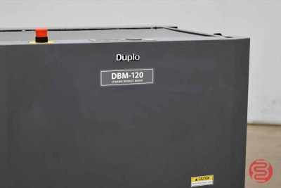 Duplo DBM-120 Trimmer and Stapler Folder - 111920013430