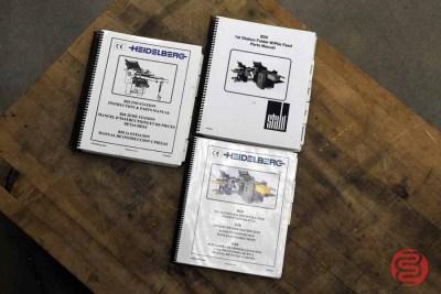 Heidelberg Stahlfolder B20 Paper Folder - 112020110530