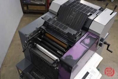 1999 Heidelberg Printmaster QM-46-2 Two Color Printing Press - 121620125320
