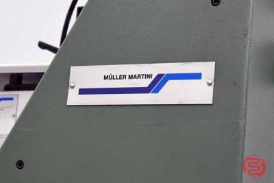 2001 Muller Martini 6-Pocket Saddle Stitcher w/ Cover Feeder - 120820040520