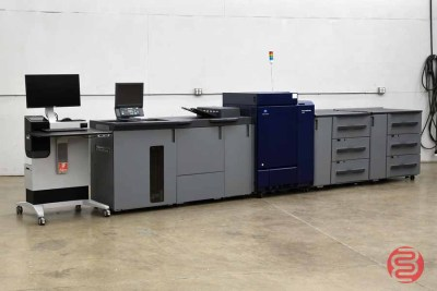 2017 AccurioPress C6100 Digital Color Press - 121020040750