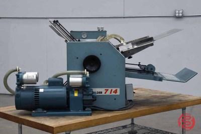 Baum 714 Vacuum Feed Paper Folder - 122820114250