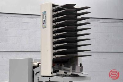 Baum Plockmatic Booklet Making System w/ 310 Maxxum 10 Bin Collator - 122220111650