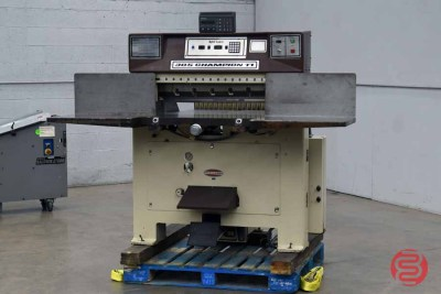 Challenge 305 CDC Programmable Paper Cutter - 011521025350
