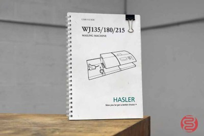Hasler WJ135 Postage Mailing Machine - 010821014130