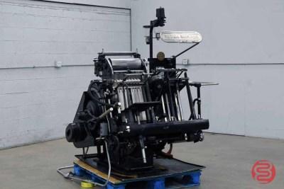 Heidelberg 10in x 15in Red Ball Windmill Letterpress - 012721111700