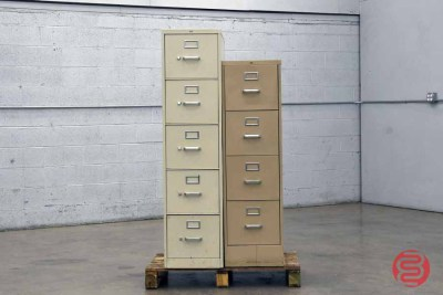 Multiple Drawer Metal File Cabinets - 012721120810