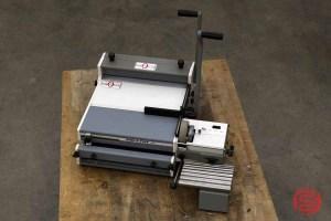 Rhin-O-Tuff OD 4800 Heavy Duty Manual Punch w/ OD 4300 Coil Inserter - 010421082650