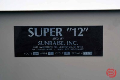 Sunraise Super 12 BC Business Card Slitter - 010421015320