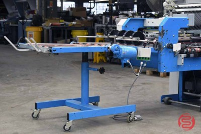 Vijuk 25174 Pile Feed Paper Folder w/ 8 Page Unit, Knife Fold Unit, and Mobile Delivery - 010621090240