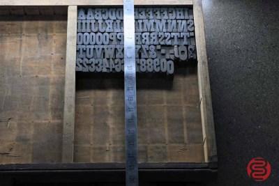 Assorted Antique Letterpress Letter Blocks - 020821074640